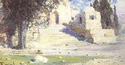 Vasilii Polenov Temple in Palestine (nn02) oil painting