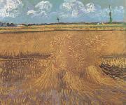Wheat Field with Sheaves (nn04), Vincent Van Gogh