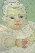 The Baby Marcelle Roulin (nn04), Vincent Van Gogh