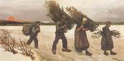 Wood Gatherers in the Snow (nn04), Vincent Van Gogh