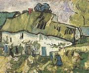 Farmhouse with Two Figures (nn04), Vincent Van Gogh
