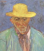 Portrait of Patience Escalier Shepherd in Provence (nn04), Vincent Van Gogh