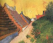 Street in Saintes-Maries (nn04), Vincent Van Gogh