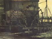 Water Mill at Gennep (nn04), Vincent Van Gogh