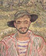 Portrait of a Young Peasant (nn04), Vincent Van Gogh