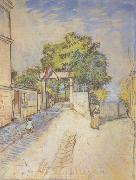 The Entrance of a Belvedere (nn04), Vincent Van Gogh