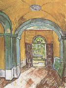 The Entrance Hall of Saint-Paul Hospital (nn04), Vincent Van Gogh