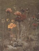 Still life with Scabiosa and Ranunculus (nn04), Vincent Van Gogh
