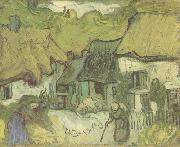 Thatched Cottages in jorgus (nn04), Vincent Van Gogh