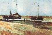 Beach at Scheveningen in Calm Weather (nn04), Vincent Van Gogh