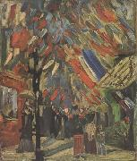 The Fourteenth of July Celebration in Paris (nn04), Vincent Van Gogh