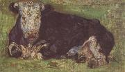 Vincent Van Gogh Lying Cow (nn04) oil painting reproduction