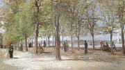 Lane at the Jardin du Luxembourg  (nn04), Vincent Van Gogh
