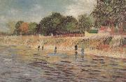 The Banks of the Seine (nn04), Vincent Van Gogh