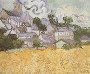 View of Auvers with Church (nn04), Vincent Van Gogh
