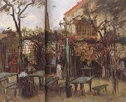 Terrace of a Cafe on Montmartre (nn04), Vincent Van Gogh