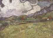 Wheat Field behind Saint-Paul Hospital (nn04), Vincent Van Gogh