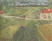 Landscape wiith Carriage and Train in the Background (nn04), Vincent Van Gogh