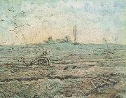 Vincent Van Gogh The Plough and the Harrow (nn04) oil painting reproduction