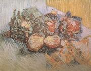 Still life with Red Cabbages and Onions (nn04), Vincent Van Gogh