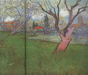 View of Arles with Trees in Blossom (nn04), Vincent Van Gogh