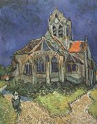 The Church at Auvers (nn04), Vincent Van Gogh
