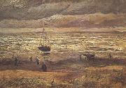 Beach at Scheveningen in Stormy Weather (nn04), Vincent Van Gogh