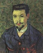 Portrait of Doctor Felix Rey (nn04), Vincent Van Gogh