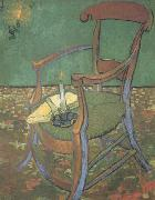 Paul Gauguin's Armchair (nn04), Vincent Van Gogh