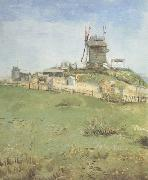 Vincent Van Gogh Le Moulin de la Galette (nn04) oil painting reproduction