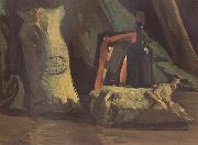 Still Life with Two Sacks and a Bottle (nn040, Vincent Van Gogh