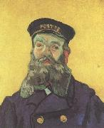 Portrait of the Postman Joseph Roulin (nn04), Vincent Van Gogh
