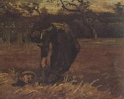 Peasant Woman Digging Up Potatoes (nn04), Vincent Van Gogh