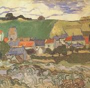 View of Auvers (nn04), Vincent Van Gogh