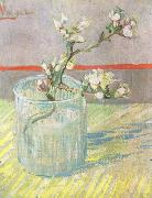 Blossoming Almond Branch in a Glass (nn04), Vincent Van Gogh