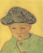 Portrait of Camille Roulin (nn04), Vincent Van Gogh