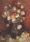 Vase wtih Asters and Phlox (nn04), Vincent Van Gogh