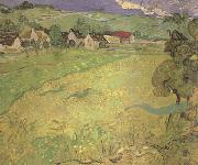 View of Vesseots near Auvers (nn04), Vincent Van Gogh