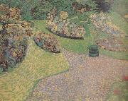 Garden in Auvers (nn04), Vincent Van Gogh