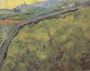 Field of Spring Wheat at Sunrise (nn04), Vincent Van Gogh