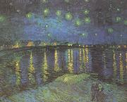 Starry Night over the Rhone (nn04), Vincent Van Gogh