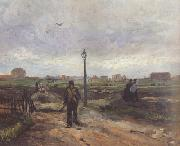Outskirts of Paris (nn04), Vincent Van Gogh