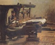Weaver Facing Right (nn04), Vincent Van Gogh