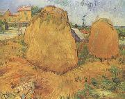 Haystacks in Provence (nn04), Vincent Van Gogh