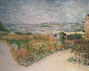 Vegetable Gardens at Montmartre (nn04), Vincent Van Gogh