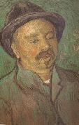 Portrait of a One-Eyed Man (nn04)., Vincent Van Gogh