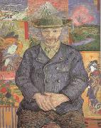 Portrait of Pere Tanguy (nn04), Vincent Van Gogh