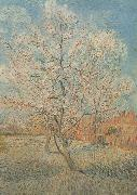 Peach Tree in Blossom (nn040, Vincent Van Gogh