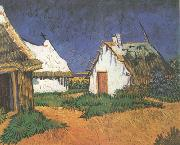 Three White Cottages in Saintes-Maries (nn04)