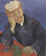 Portrait of Doctor Gachet (nn04), Vincent Van Gogh